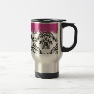 Modelo B&W of the vintage one with rose Mug