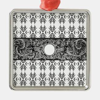 Modelo barroco blanco negro con clase a modificar  ornamento de reyes magos