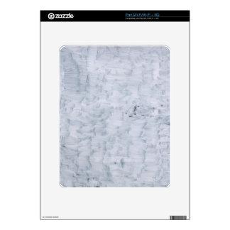 modelo blanco abstracto mínimo de la textura de la calcomanías para iPad