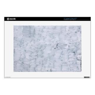 modelo blanco abstracto mínimo de la textura de la portátil calcomanía