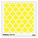 Modelo blanco amarillo #5 de Quatrefoil del