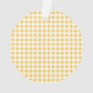 Modelo blanco amarillo de la guinga