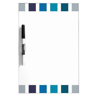 Modelo blanco azul de las rayas pizarras blancas de calidad