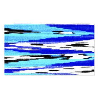 Modelo blanco azul negro moderno del galón del tarjetas de visita