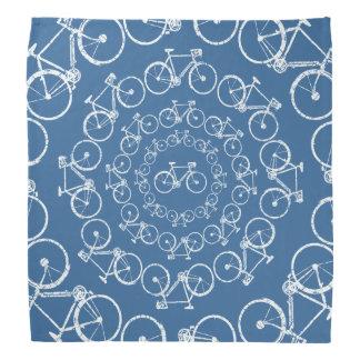 modelo blanco circular de las bicicletas bandanas