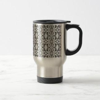 Modelo blanco clásico del cordón taza de café