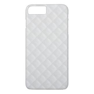 Modelo blanco como la nieve del edredón funda iPhone 7 plus