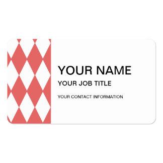 modelo blanco coralino 1.png del harlequin tarjetas de visita