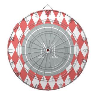 Modelo blanco coralino del Harlequin monograma gr
