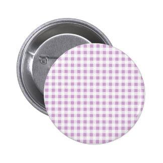 Modelo blanco de la guinga de la lila pin