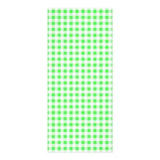 Modelo blanco de la guinga de la verde lima lonas publicitarias