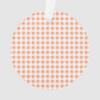 Modelo blanco de la guinga del melocotón