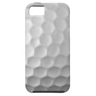 Modelo blanco de la pelota de golf del caso del iPhone 5 carcasas