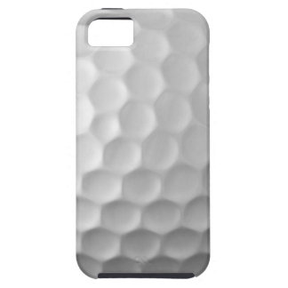 Modelo blanco de la pelota de golf del caso del iPhone 5 Case-Mate cárcasa