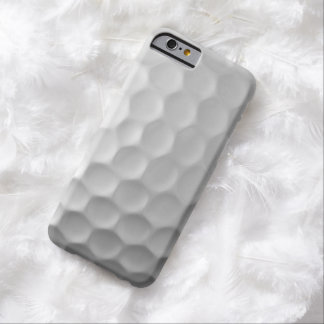 Modelo blanco de la pelota de golf del caso del funda de iPhone 6 barely there