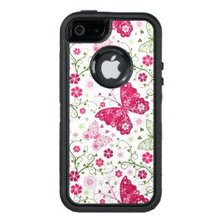 Modelo blanco floral funda otterbox para iPhone 5/5s/SE