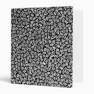 """Modelo blanco negro artístico del confeti de las carpeta 1"""""""