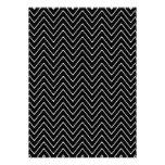 Modelo blanco negro de Chevron Comunicados