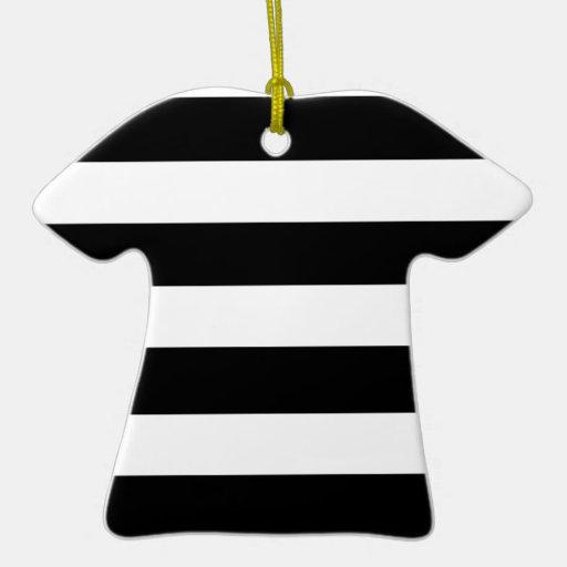 Modelo blanco negro moderno de las rayas ornamento de reyes magos