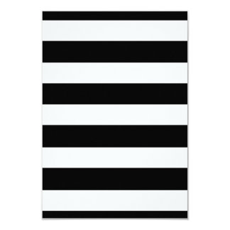 Modelo blanco negro moderno de las rayas comunicados personalizados