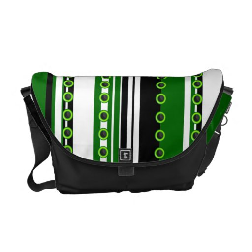 Modelo blanco negro verde elegante bolsas messenger