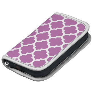 Modelo blanco púrpura #5 de Quatrefoil del Organizador