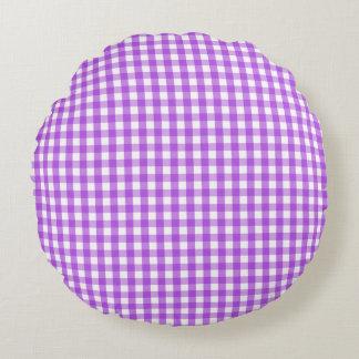 Modelo blanco púrpura clásico del control de la cojín redondo