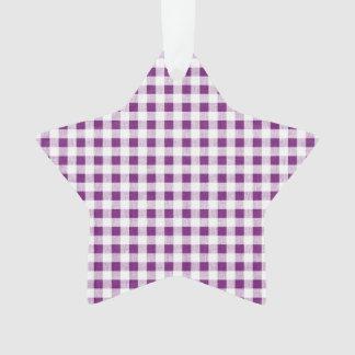 Modelo blanco púrpura de la guinga