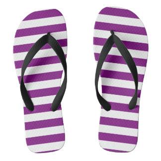 Modelo blanco púrpura de las rayas