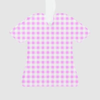 Modelo blanco rosado de la guinga