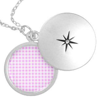Modelo blanco rosado de la guinga medallón