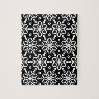 Modelo blanco y negro 01 puzzle