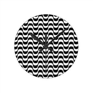 modelo blanco y negro, copacabana reloj redondo mediano