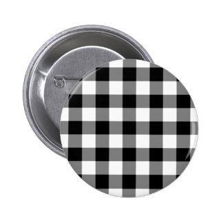 Modelo blanco y negro de la guinga pins