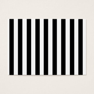 Modelo blanco y negro de las rayas de la MOD Tarjeta De Negocios