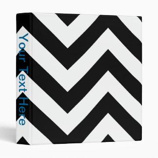 Modelo blanco y negro de los galones del zigzag