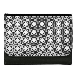 Modelo blanco y negro del círculo íntimo del arte