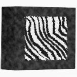 Modelo blanco y negro del estampado de zebra