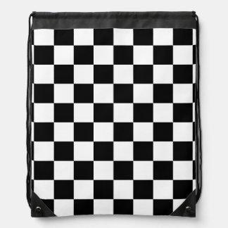 modelo blanco y negro del inspector mochilas