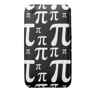 Modelo blanco y negro del pi Case-Mate iPhone 3 protector