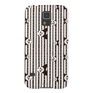 Modelo blanco y negro del Po Carcasas Para Galaxy S5