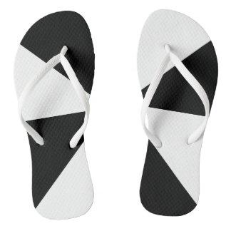 Modelo blanco y negro geométrico moderno