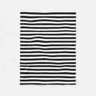 Modelo blanco y negro horizontal de la raya manta polar