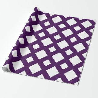 Modelo blanco y púrpura del diamante
