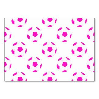 Modelo blanco y rosado del balón de fútbol