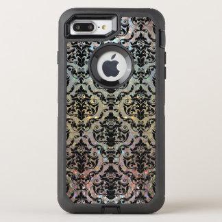 Modelo bonito del damasco de Halleesham protector Funda OtterBox Defender Para iPhone 7 Plus