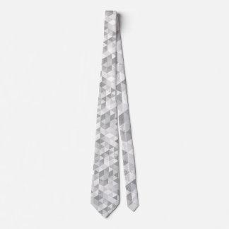 Modelo bonito II del grunge del triángulo + sus Corbata Personalizada