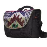 Modelo bordado vintage bolsas de portatil