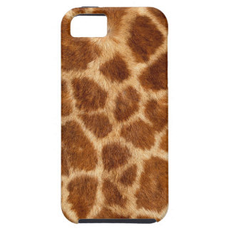 Modelo borroso de la piel de la jirafa funda para iPhone SE/5/5s
