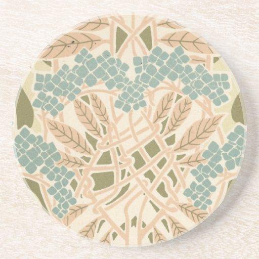 modelo botánico del otoño de la naturaleza del nou posavasos diseño